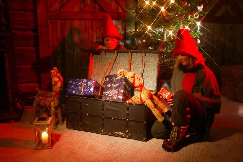 joulu 2018 levi Christmas comes to The Elves`Cottage story   Levi Center Hullu Poro joulu 2018 levi